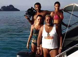 Vijay Mallya Fishing