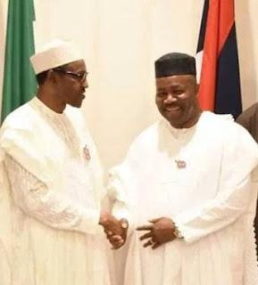 President Buhari gives Senator Godswill Akpabio New Appointment