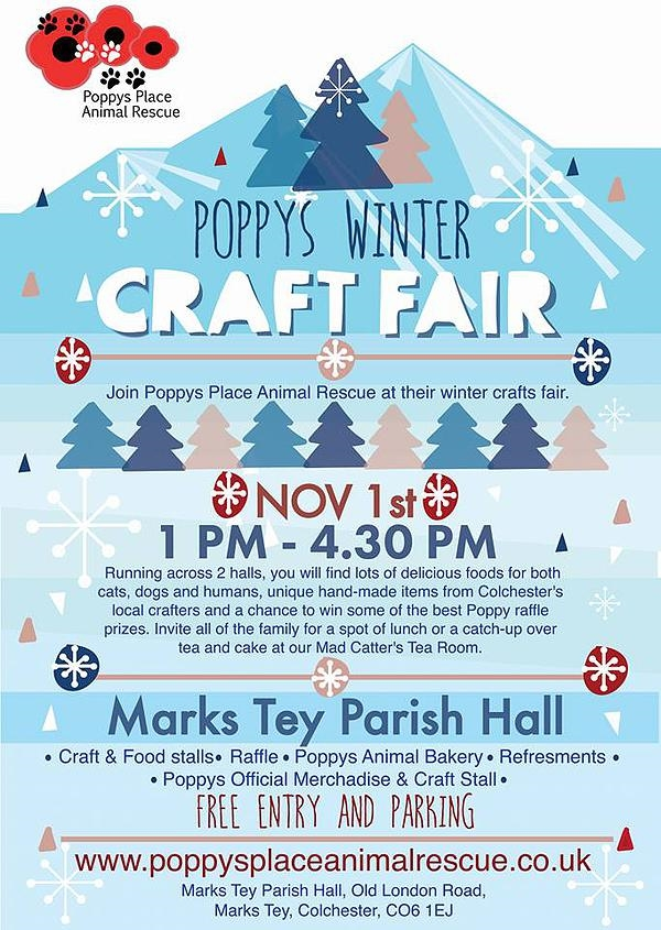 Louise Dawson Design Poppy S Place Winter Craft Fair