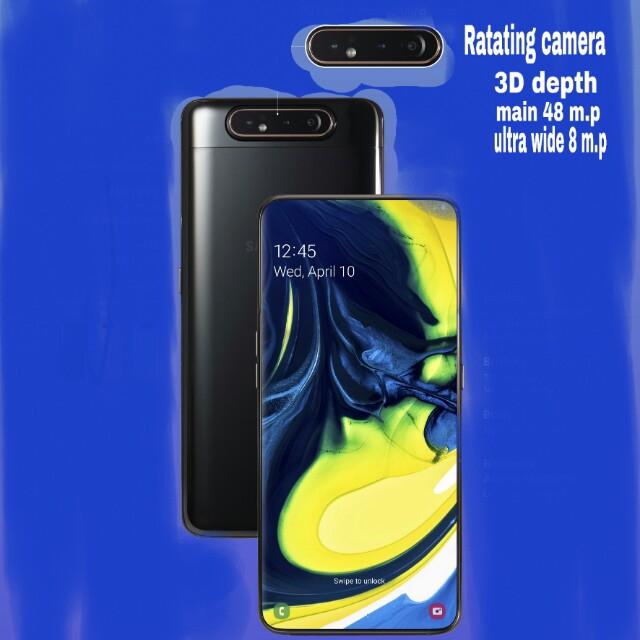 Samsung ne launch kiya apna first rotating camera smartphone