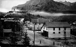 Main Street, Bankhead AB, circa 1910