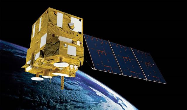 Imagem do satélite brasileiro CBERS-4