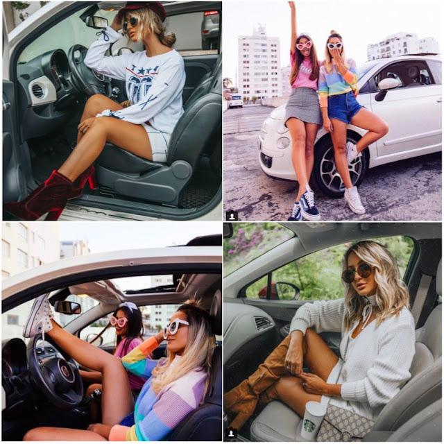 Como fazer fotos em dupla no carro