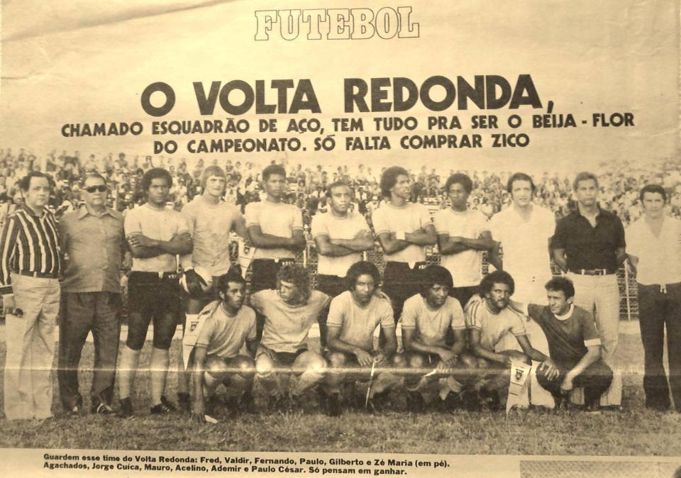 Resultado de imagem para volta redonda  FC 1979