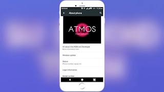 Cusrom AtmosOS Advan S5E Nxt