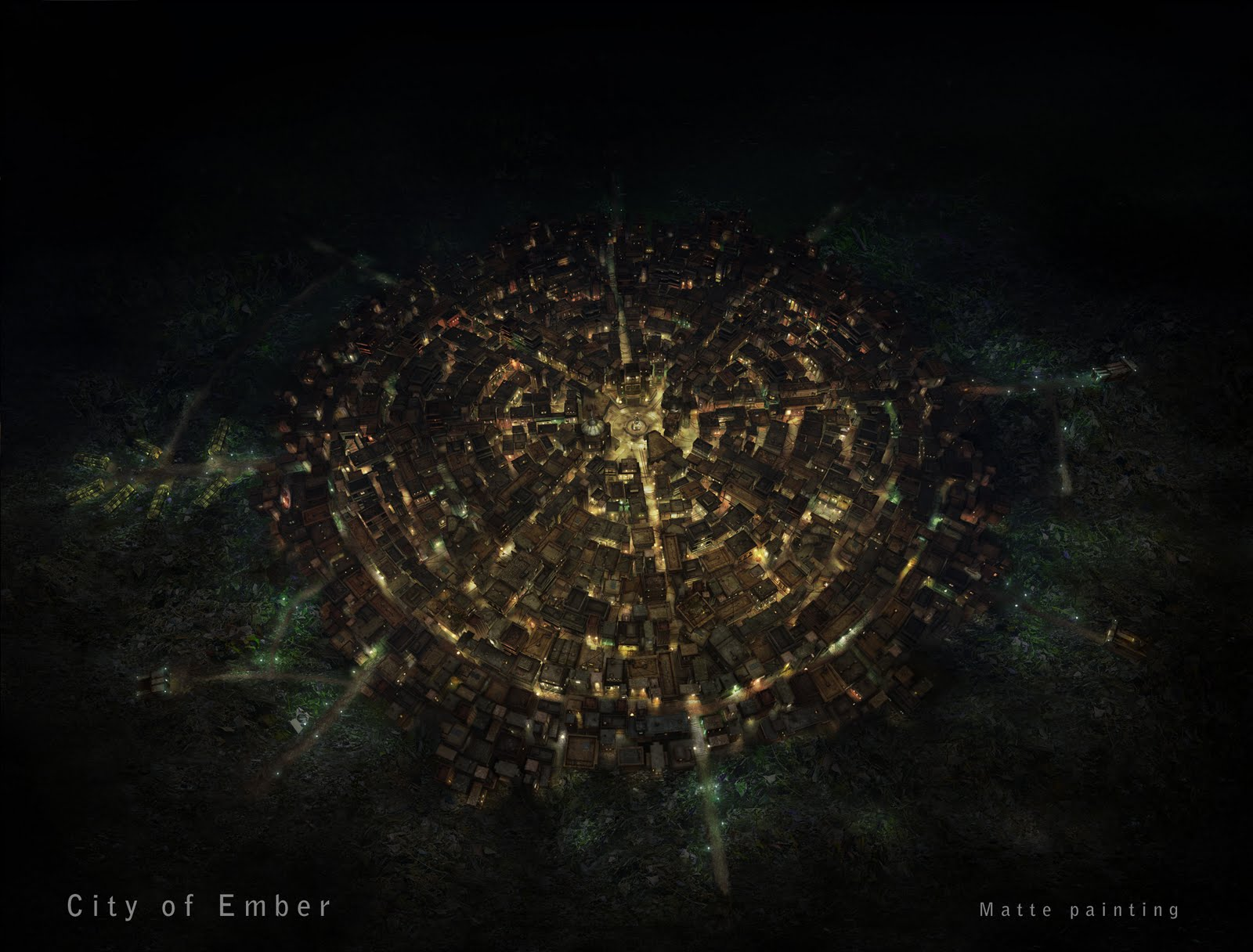 The Art Of Ivan Girard City Of Ember
