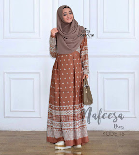Gamis Jasmine Nafeesa Dress 15