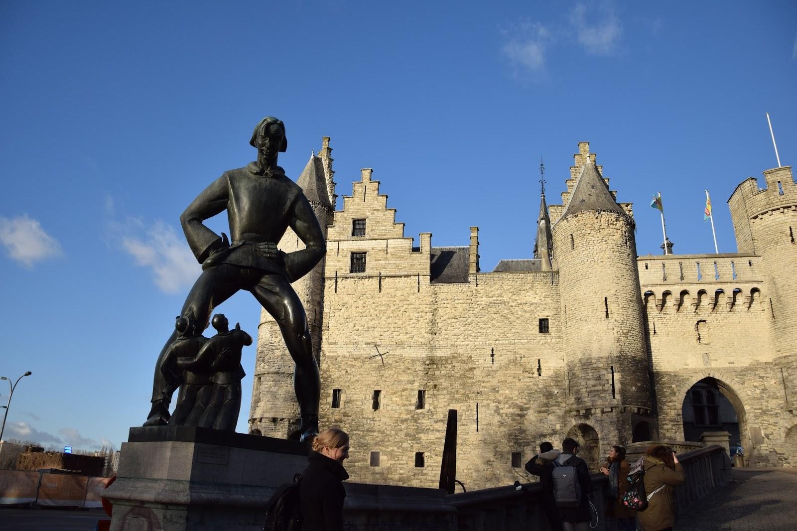 Antwerpia zamek