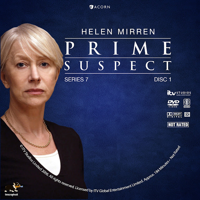 Prime Suspect 7: The Final Act Disc 1 DVD Label