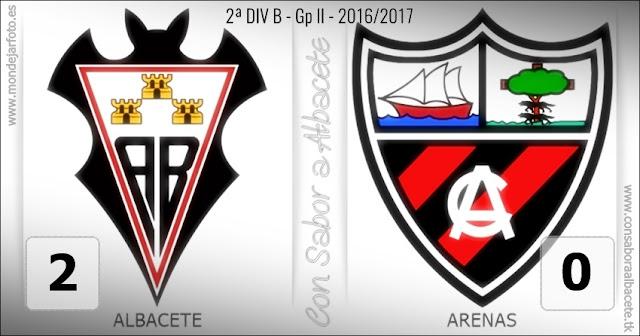 EL ALBA PASA DE RONDA, TRAS UN 2-0 CONTRA EL ARENAS DE GETXO.