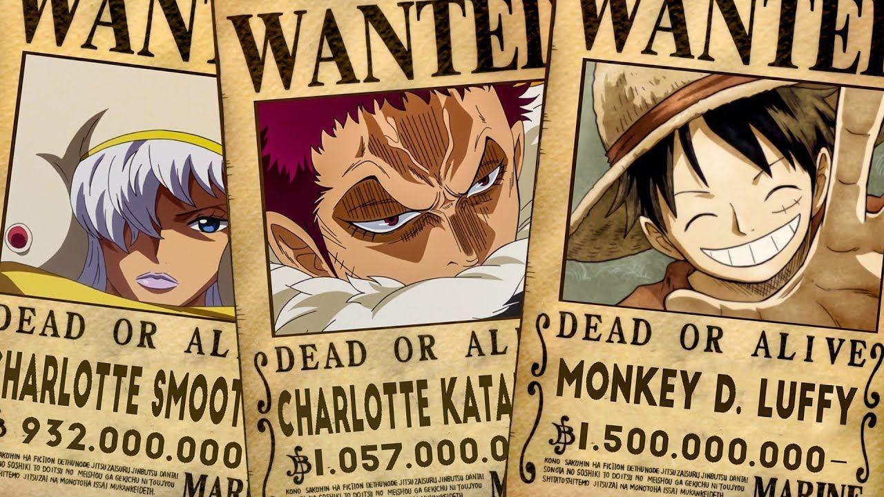 One Piece Bounty Setelah Arc Dressrosa
