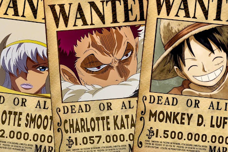 One Piece Bounty Setelah Arc Dressrosa