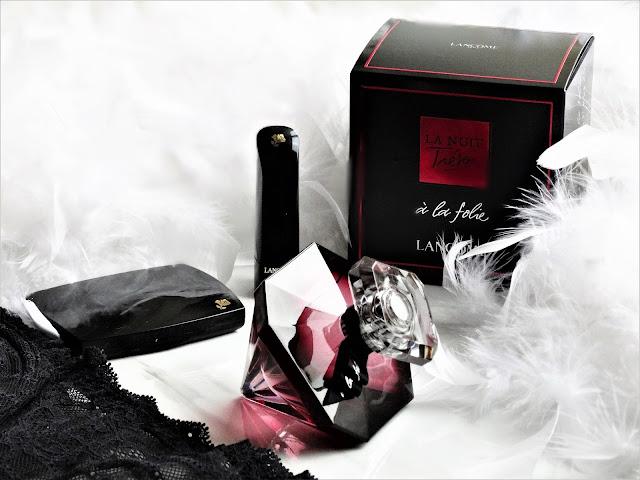 avis La Nuit Trésor à la Folie de Lancôme, nouveau parfum lancome, lancome femme, blog parfum, news parfums, parfum pas cher, parfum femme