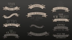 Retro Style Vintage Titles - After Effects Templates | Motionarray 211386 - Free download