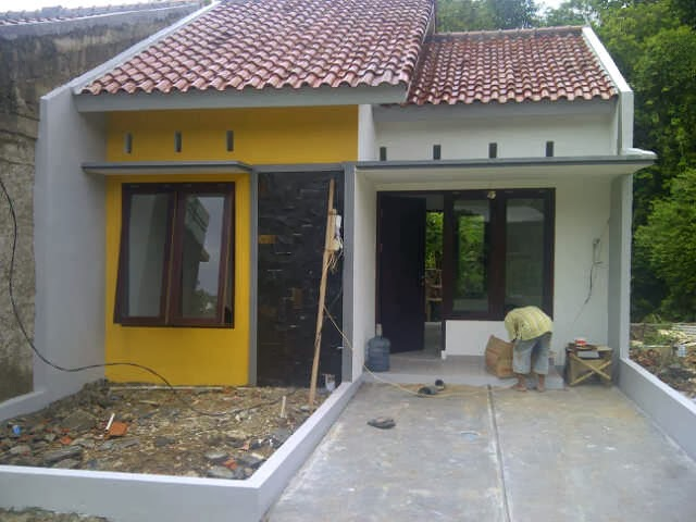 Contoh Bentuk Rumah Sederhana Cantik Menawan