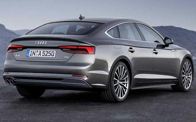 Novo Audi A5 Sportback 2017
