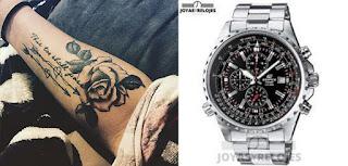Relojes Casio para combinar con tus tatuajes
