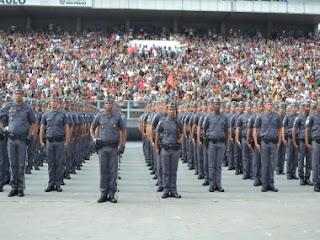 Governo de SP autoriza abertura de concurso para Polícia Militar