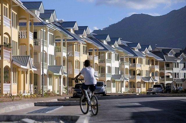 Seychellen: Landgewinnung für Perseverance Housing Development (C)The National