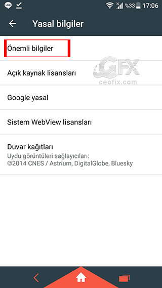 Telefonun SAR değeri nasıl öğrenilir.-.ceofix.com