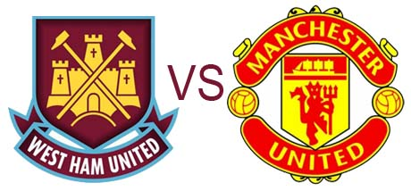 Prediksi Skor West Ham United vs Manchester United 06 Januari 2013