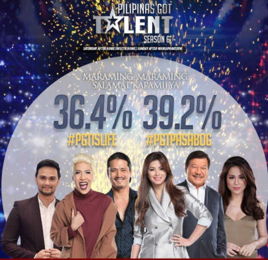 Pilipinas Got Talent Took Over The Weekend Ratings On Its Second Week!