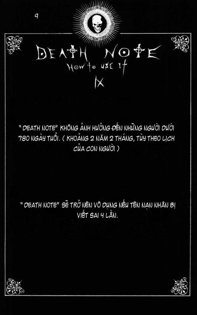 Death Note chapter 110 - how to use trang 12
