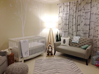 Dormitorio bebé decorado