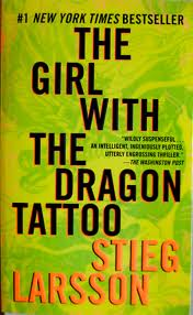 Girl with the Dragon Tattoo Stieg Larsson book cover