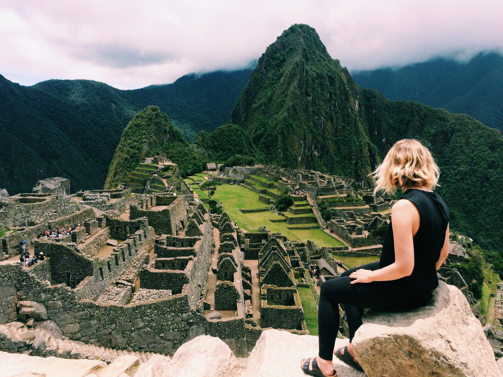Meg in Machu Picchu