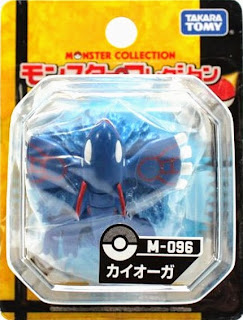 Kyogre figure Takara Tomy Monster Collection M series