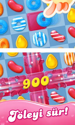 Candy Crush Jelly Saga hile apk indir