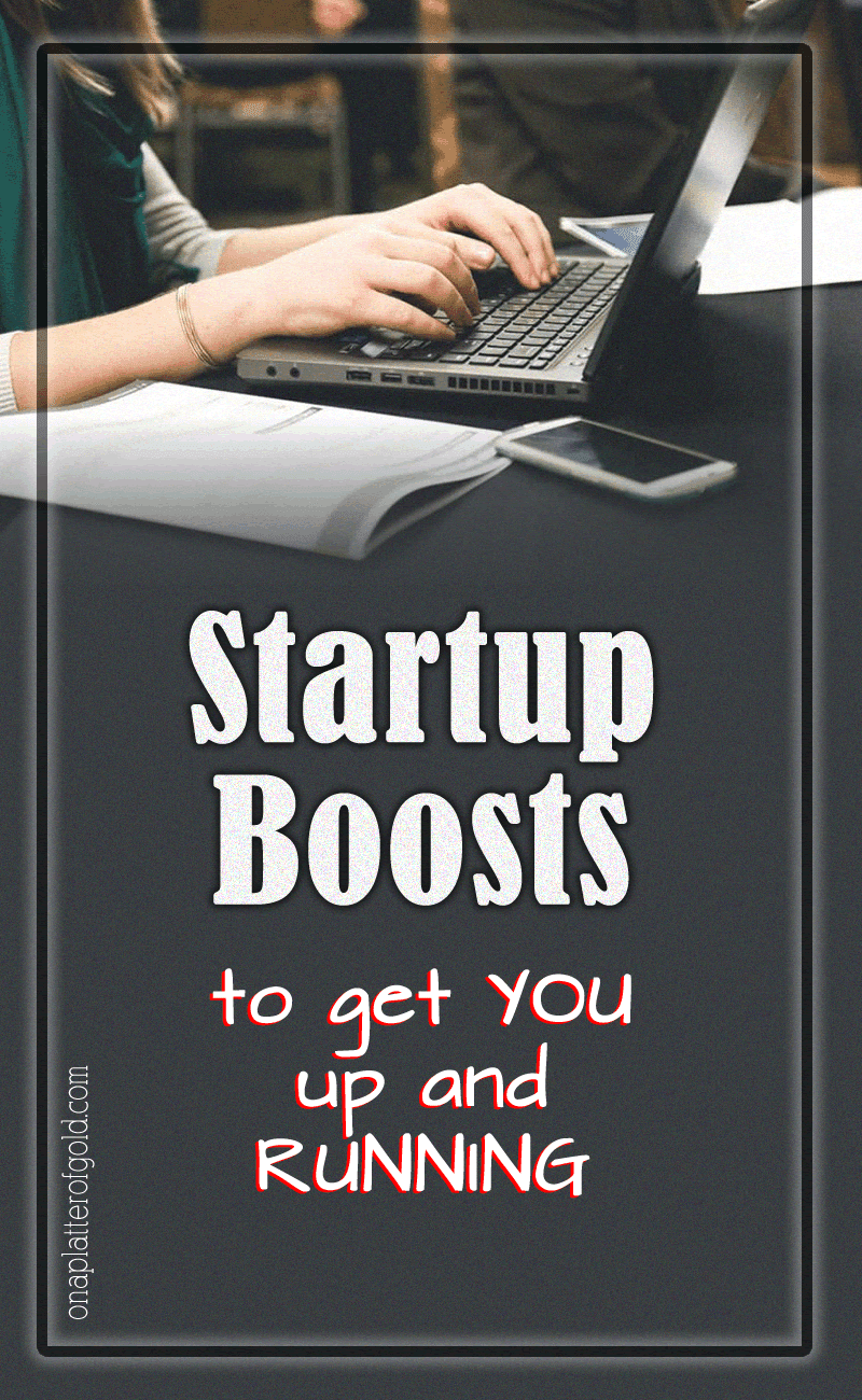 Startup Boosts To Get You Up And Running
