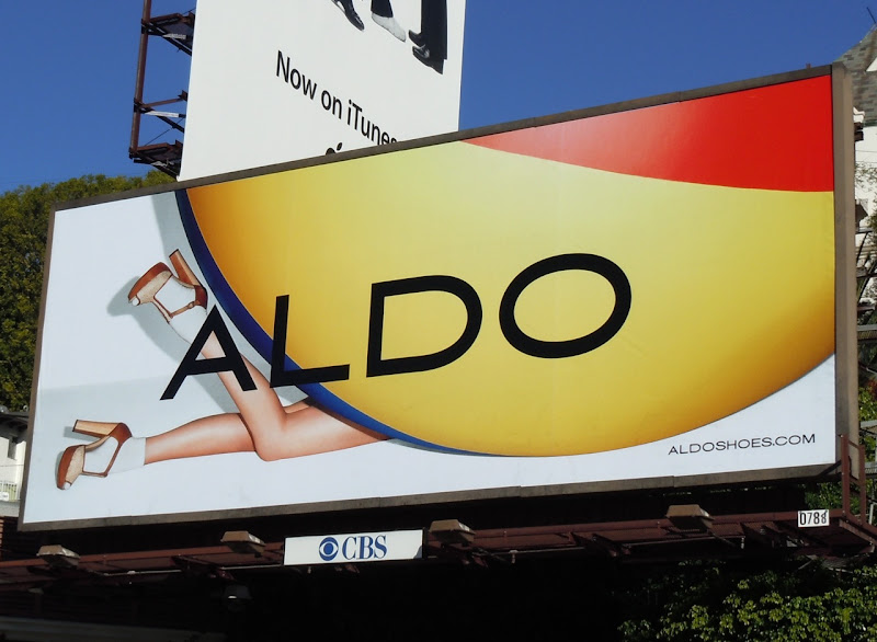 Aldo Shoes beach ball billboard