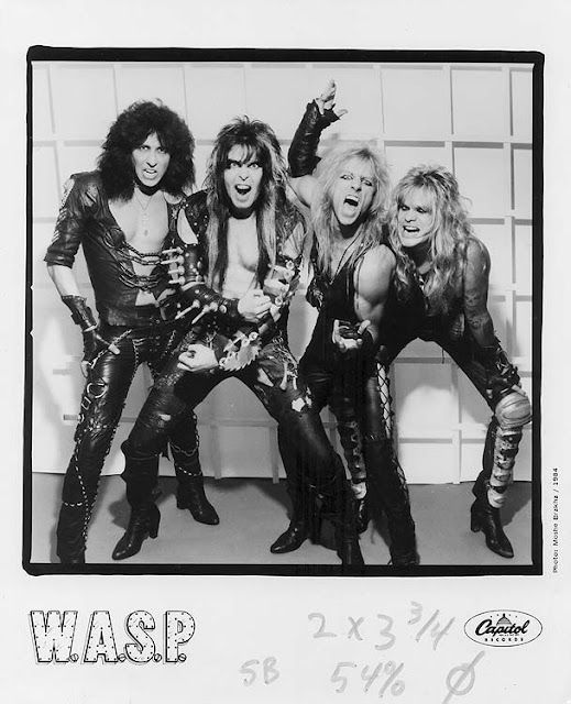 W 246 Rn75 Vintage 1985 Wasp Tour T Shirt