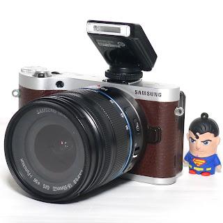 Kamera Mirrorless Samsung NX300M Bekas Di Malang