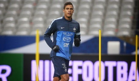 Louis van Gaal planning for Raphael Varane swoop