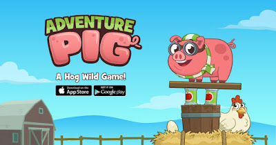 Check out the new app, Adventure Pig!