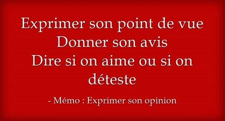 http://parlons-francais.tv5monde.com/webdocumentaires-pour-apprendre-le-francais/Memos/Grammaire/p-765-lg0-Exprimer-son-opinion.htm
