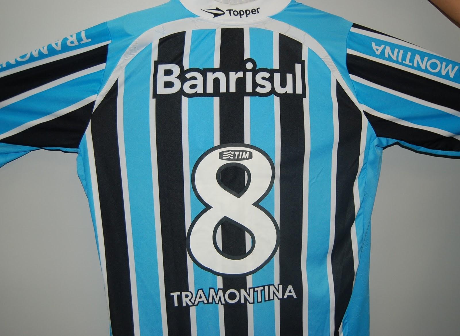 Acompanhe ao vivo o lançamento da camisa do Grêmio fabricadas pela Topper db7944aa496dc