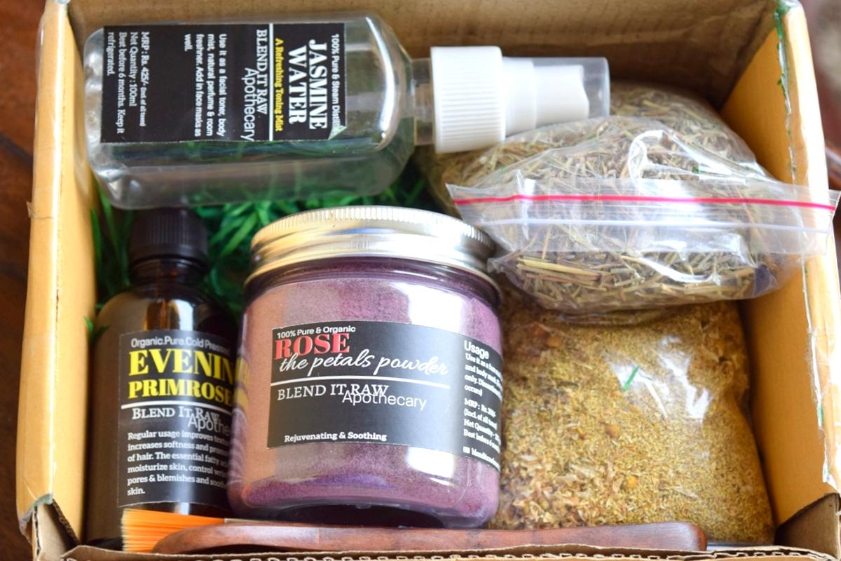 Blend It Raw DIY Beauty flower edition Box