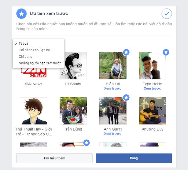 tối ưu hóa bảng tin trên facebook