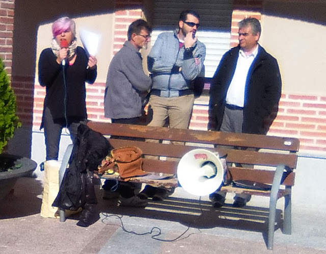 reunion vecinal en Palomeque