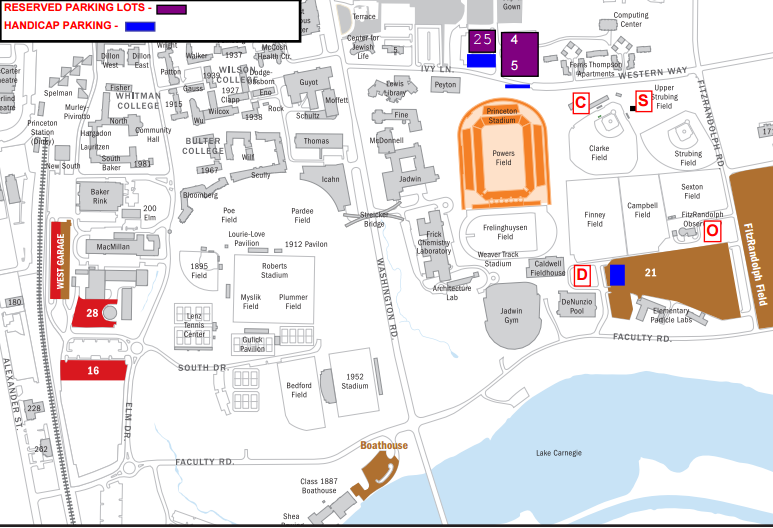 Fancy A secret I will share with you is that Princeton is indirectly responsible for how my wife and I met for the first game Finding parking for football games