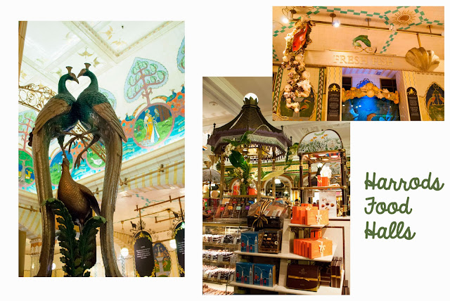 harrods food halls london