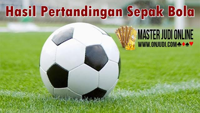 Hasil Pertandingan Sepakbola 13 - 14 April 2018