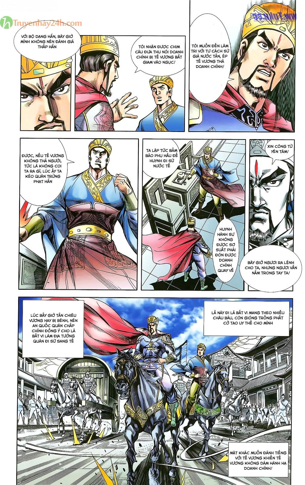 Tần Vương Doanh Chính chapter 28 trang 27