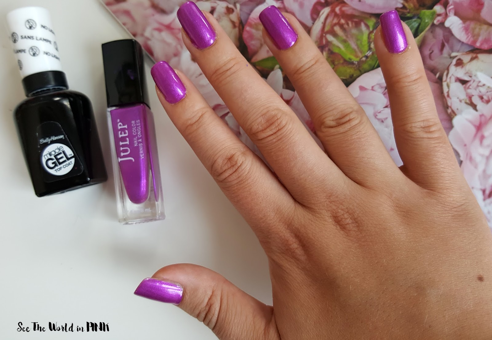 "Manicure Tuesday - Julep ""Katie"" ~ Classic with a Twist polish!"
