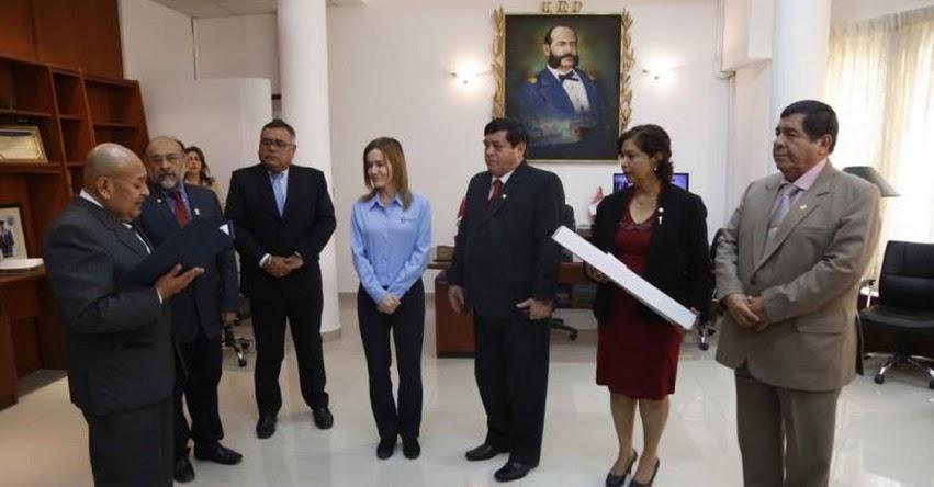 UNP: Ministra de Educación se reunió con Rector de la Universidad Nacional de Piura por reconstrucción