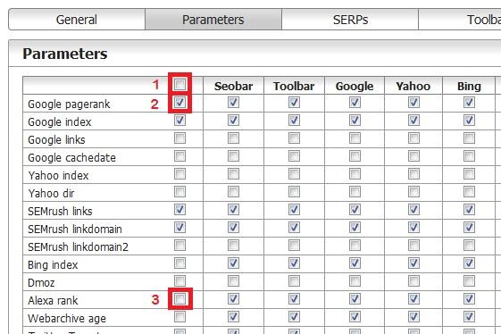 Pengaturan parameter-parameter pada browser Mozilla